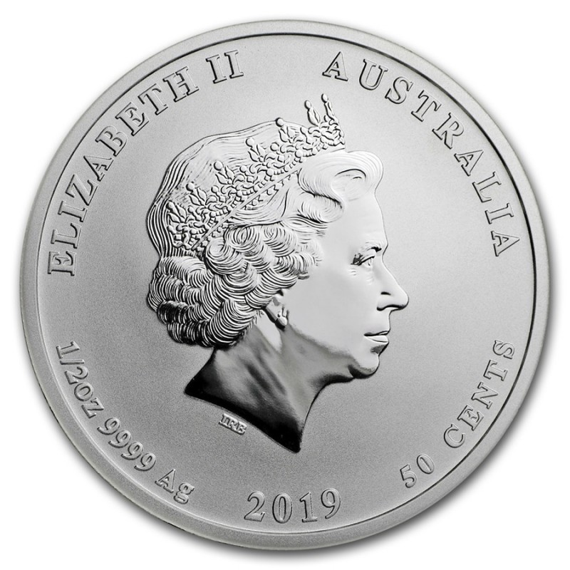 Series 2 2019 Australia 1//2 oz Silver Year of the Pig BU