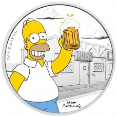 HOMER SIMPSON™ - 1 OZ  THE SIMPSONS™ - CHARACTERS