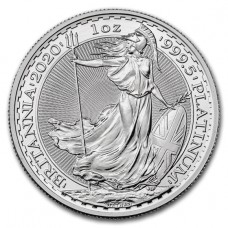 2020 1 oz Great Britain Platinum Britannia BU Coin (PRE-SALE)