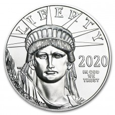 2020 1 oz American Platinum Eagle BU Coin BU (PRE-SALE)