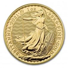 2021 1 oz Gold Britannia Coin