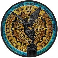 Mexican Libertad Aztec Calendar Coin