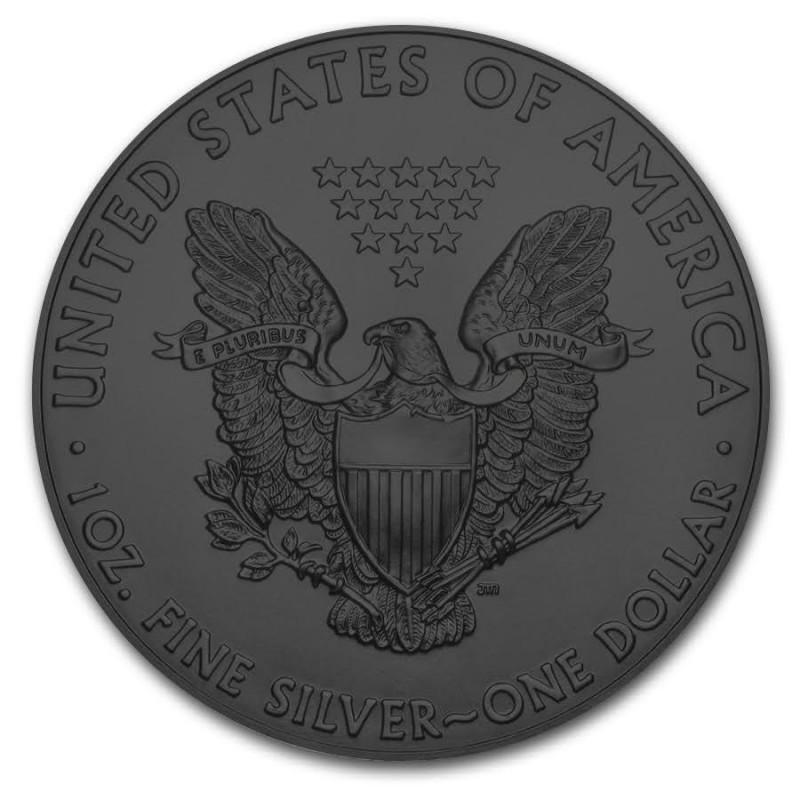 American Silver Eagle Coin Zodiac Pisces Colorized Gold
