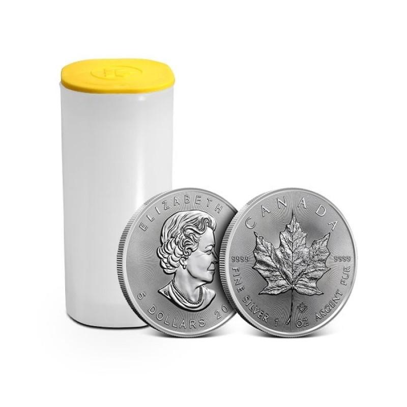 2018 Canada 1 oz Silver Maple Leaf BU Buy Silver Coins from Estonia