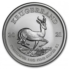 2021 1 oz South Africa Silver Krugerrand Coin BU (PRE-SALE)