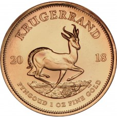 1 oz Gold Krugerrand (Random Year)